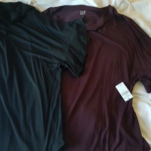 Two new Gap luxe tops